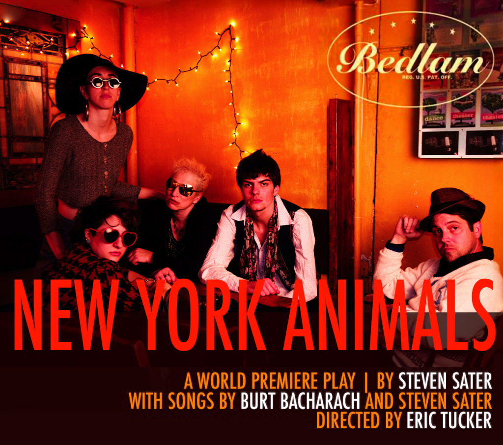 Poster for Bedlam's New York Animals