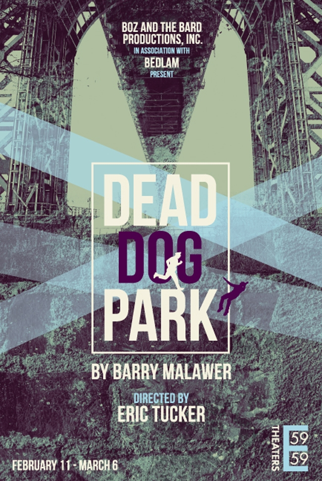Poster for Dead Dog Park using image of close up of a bridge