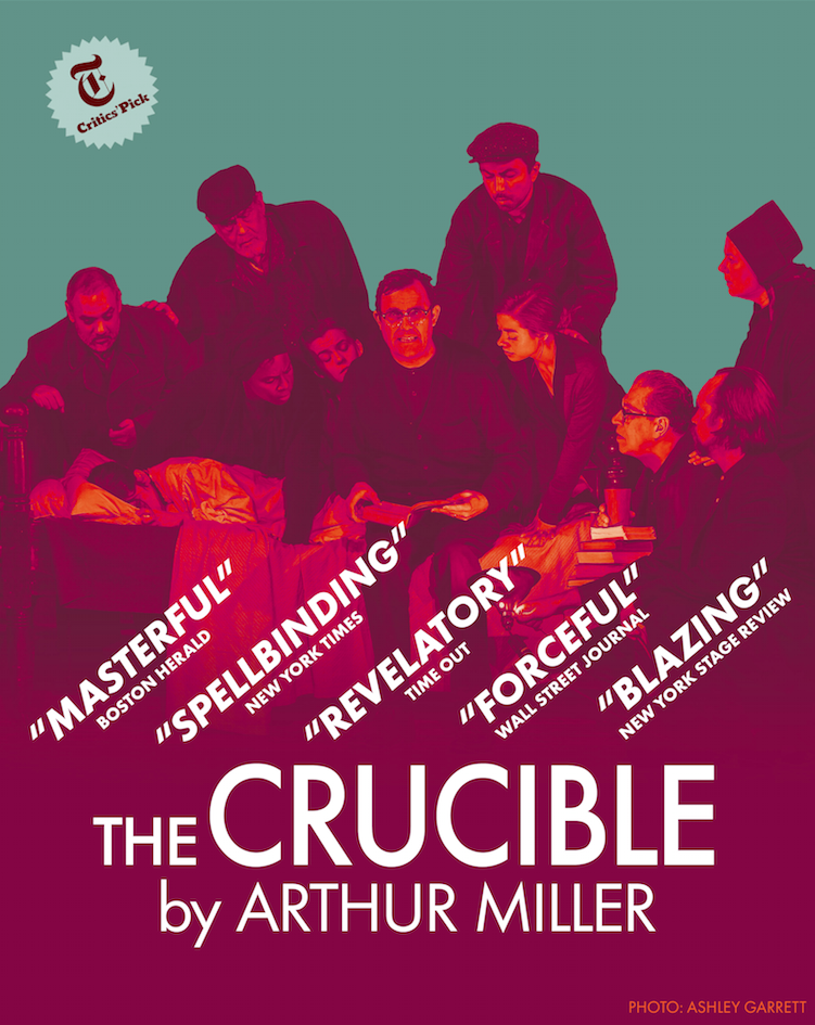 Crucible Poster with review quotes