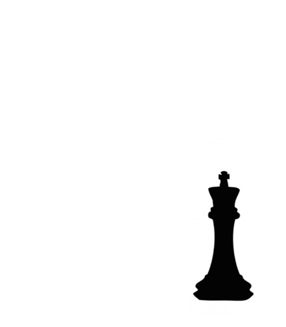 Richard II poster with a silhouette of a king chess piece