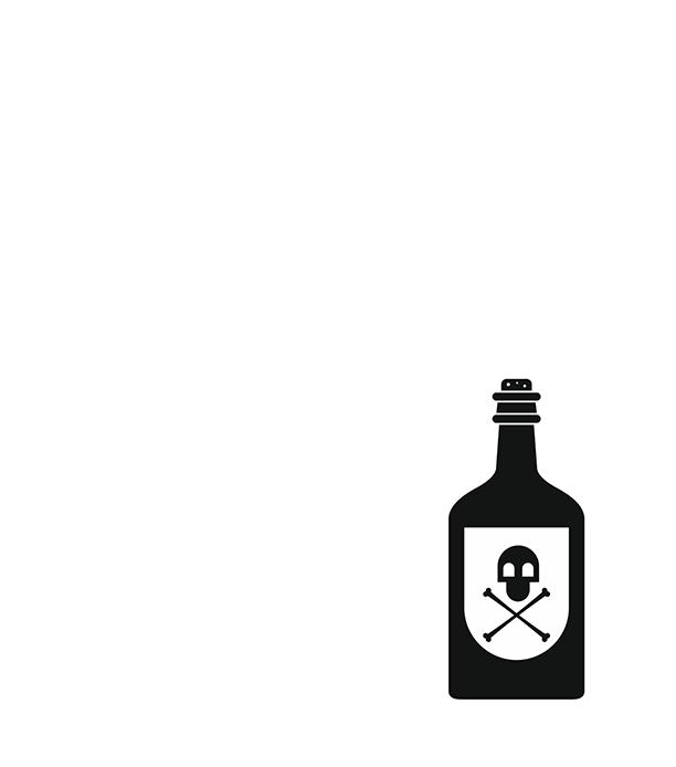 Icon of a bottle